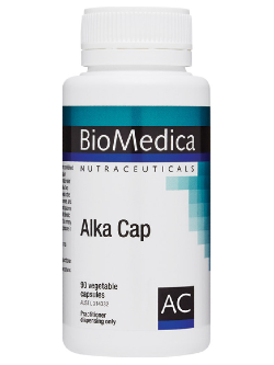 BioMedica Alka Cap 90 Capsules | Vitality and Wellness Centre