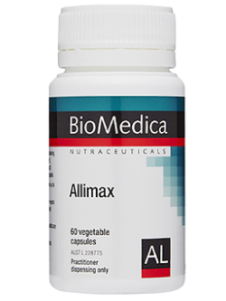 BioMedica Allimax 60 Capsules | Vitality and Wellness Centre