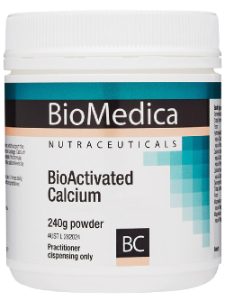 Biomedica-BioActivated-Calcium | Vitality and Wellness Centre
