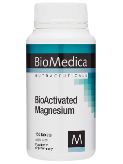 BioMedica BioActivated Magnesium 150 Tablets | Vitality and Wellness Centre