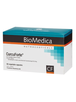 BioMedica CurcuForte 60 Capsules | Vitality and Wellness Centre