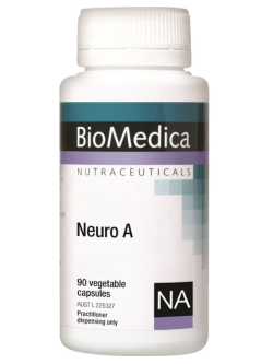 BioMedica Neuro A 90 Capsules | Vitality and Wellness Centre