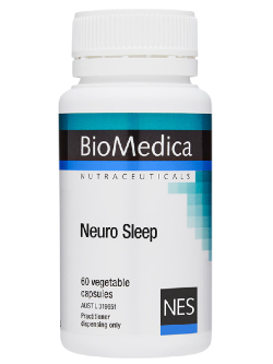 BioMedica Neuro Sleep 60 Capsules | Vitality and Wellness Centre