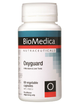 BioMedica Oxyguard 60 Capsules | Vitality and Wellness Centre