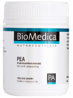BioMedica PEA (Palmitoylethanolamide) 100g Powder | Vitality and Wellness Centre