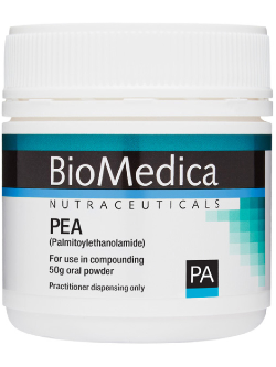 BioMedica PEA (Palmitoylethanolamide) 50g Powder | Vitality and Wellness Centre