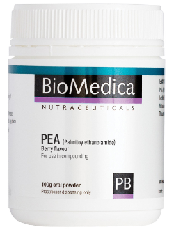BioMedica PEA (Palmitoylethanolamide) Berry 100g Powder | Vitality and Wellness Centre