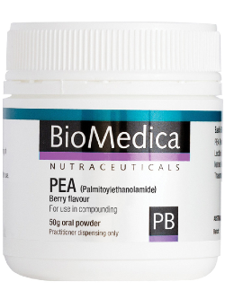 BioMedica PEA (Palmitoylethanolamide) Berry 50g Powder | Vitality and Wellness Centre