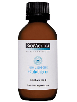 BioMedica Pure Liposome Glutathione 100ml | Vitality and Wellness Centre