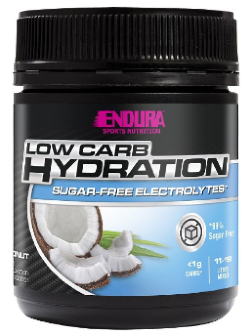 Endura Low Carb Hydration Coconut Flavour 122g | Vitality and Wellness Centre