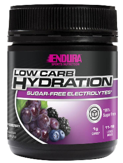 Endura Low Carb Hydration Grapeberry Flavour 128g | Vitality and Wellness Centre