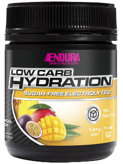 Endura Low Carb Hydration Tropical Punch Flavour 135g | Vitality and Wellness Centre