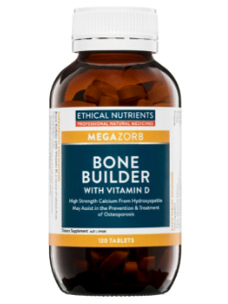 Ethical Nutrients Bone Builder 120 Tablets | Vitality and Wellness Centre