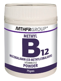 MTHFR Group Methyl B12 Powder 75g | Vitality and Wellness Centre