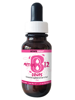 MTHFR Group Methyl B12 Drops 25ml | Vitality and Wellness Centre