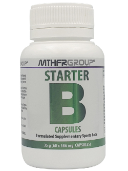 MTHFR Group Starter B 60 Capsules | Vitality and Wellness Centre