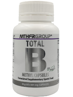 MTHFR Group Total B 60 Capsules | Vitality and Wellness Centre