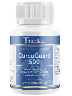 Medlab CurcuGuard 500 30 Capsules | Vitality and Wellness Centre