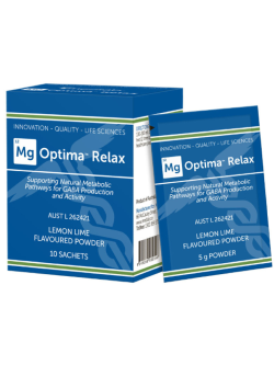 Medlab Mg Optima Relax Lemon Lime Sachets | Vitality and Wellness Centre