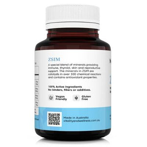 NatroVital ZSIM 60 Capsules LHS | Vitality and Wellness Centre