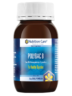 Nutrition Care Polybac 8 75g Powder | Vitality and Wellness Centre