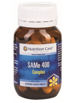 Nutrition Care SAMe 400 Complex 30 Tablets | Vitality and Wellness Centre