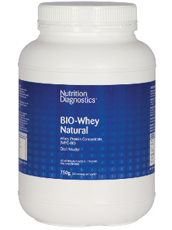 Nutrition Diagnostics BIO-Whey Natural 750g | Vitality and Wellness Centre