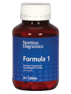 Nutrition Diagnostics Formula 1 84 Tablets | Vitality and Wellness Centre