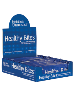 Nutrition Diagnostics Healthy Bites Bars Pack of 10 x 60g bars | Vitality and Wellness Centre
