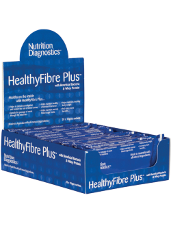 Nutrition Diagnostics HealthyFibre Plus 20 x 15g Sachets | Vitality and Wellness Centre
