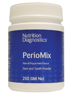 Nutrition Diagnostics PerioMix 250g Powder | Vitality and Wellness Centre