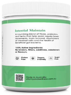 NatroVital Intestinal Maintain 250g Powder LHS | Vitality And Wellness Centre