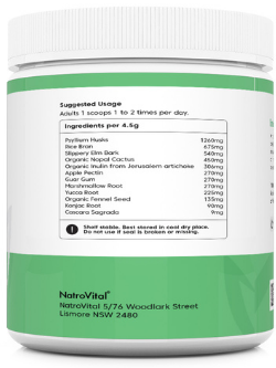 NatroVital Intestinal Maintain 250g Powder | Vitality And Wellness Centre