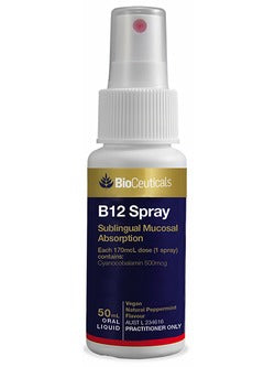 BioCeuticals B12 Spray 50ml Oral Liquid