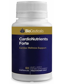 BioCeuticals CardioNutrients Forte | Vitality And Wellness Centre