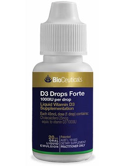 BioCeuticals D3 Drops Forte | Vitality And Wellness Centre
