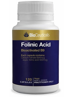 BioCeuticals Folinic Acid | Vitality And Wellness Centre