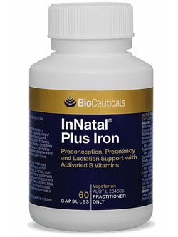 BioCeuticals InNatal Plus Iron 60 Capsules | Vitality And Wellness Centre