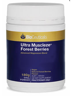 BioCeuticals Ultra Muscleze Forest Berries 180g | Vitality And Wellness Centre