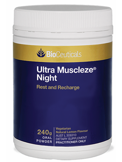 BioCeuticals Ultra Muscleze Night 240g Powder | Vitality And Wellness centre