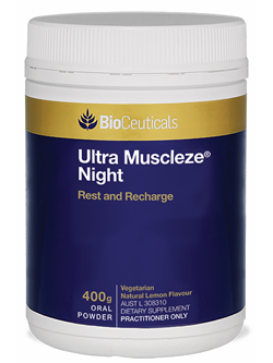 BioCeuticals Ultra Muscleze Night 400g Powder | Vitality And Wellness centre