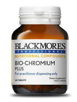 Blackmores Professional Bio-Chromium Plus 60 Tablets | Vitality And Wellness Centre