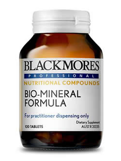 Blackmores Professional Bio-Mineral Formula 120 Tablets | Vitality And Wellness Centre