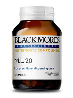 Blackmores Professional ML20 170 Tablets