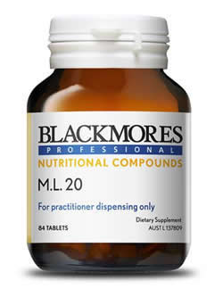 Blackmores Professional ML20 84 Tablets | Vitality And Wellness Centre