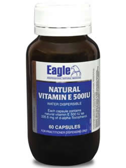 Eagle Natural Vitamin E 500iu | Vitality and Wellness Centre