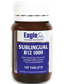 Eagle Sublingual B12 1000mcg | Vitality and Wellness Centre