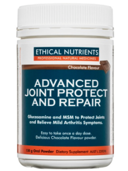 Ethical Nutrients Advanced Joint Protect and Repair 150g Chocolate Powder | Vitality and Wellness Centre
