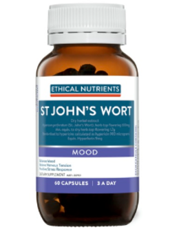 Ethical Nutrients St John's Wort 60 Capsules | Vitality and Wellness Centre