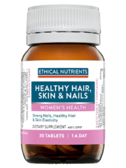 Ethical Nutrients Healthy Hair, Skin & Nails 30 Tablets | Vitality and Wellness Centre